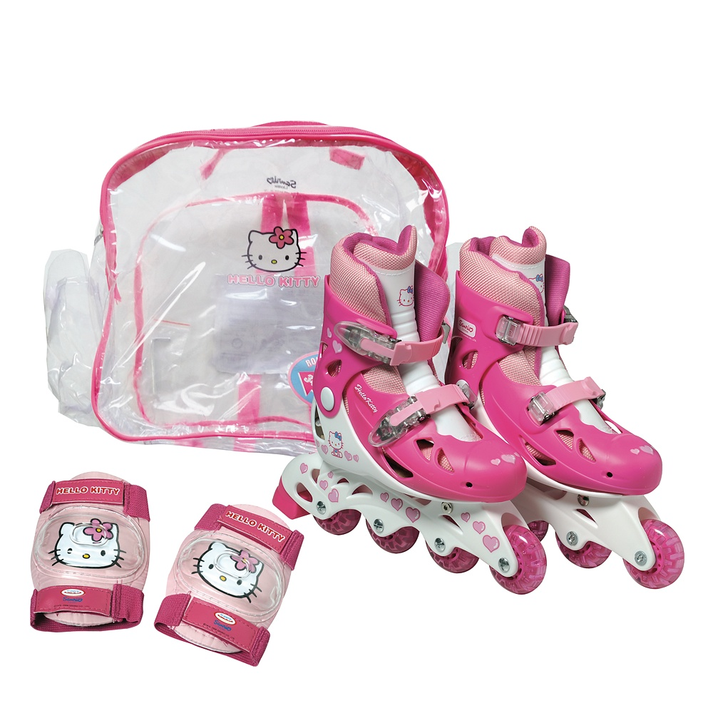 b40371e8d57 Комплект ролери за момичета Hello Kitty - inSPORTline