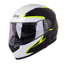 Каска W-TEC FS-816 Black-Fluo Yellow
